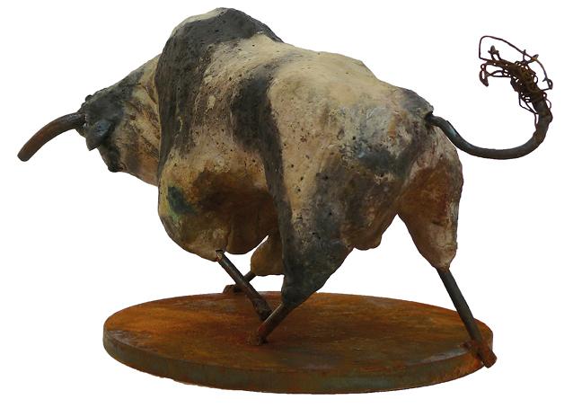 """Stier in göttlicher Kraft lll"" / ""Bull in divine force lll"""