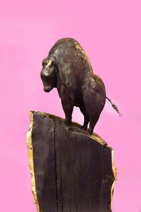 """Stier in göttlicher Kraft l"" / ""Bull in divine force l"""