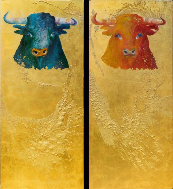 Bull in divine light VI & bull in divine light VII