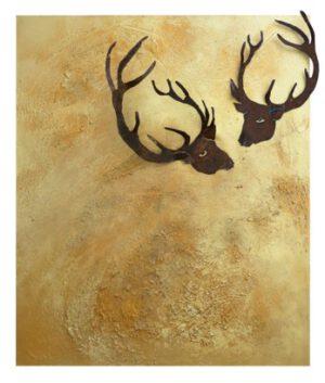 Deer in the golden light II