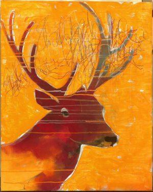 Proud deer V