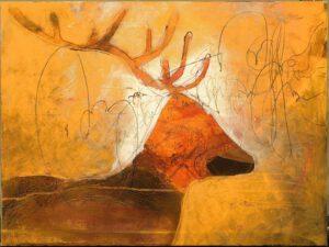 Proud deer VI